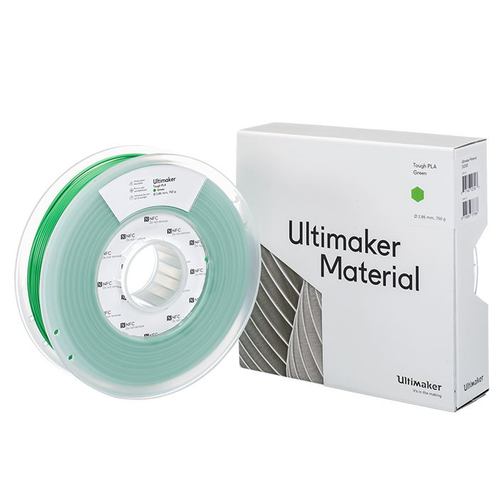Ultimaker PLA TOUGH REDGREEN